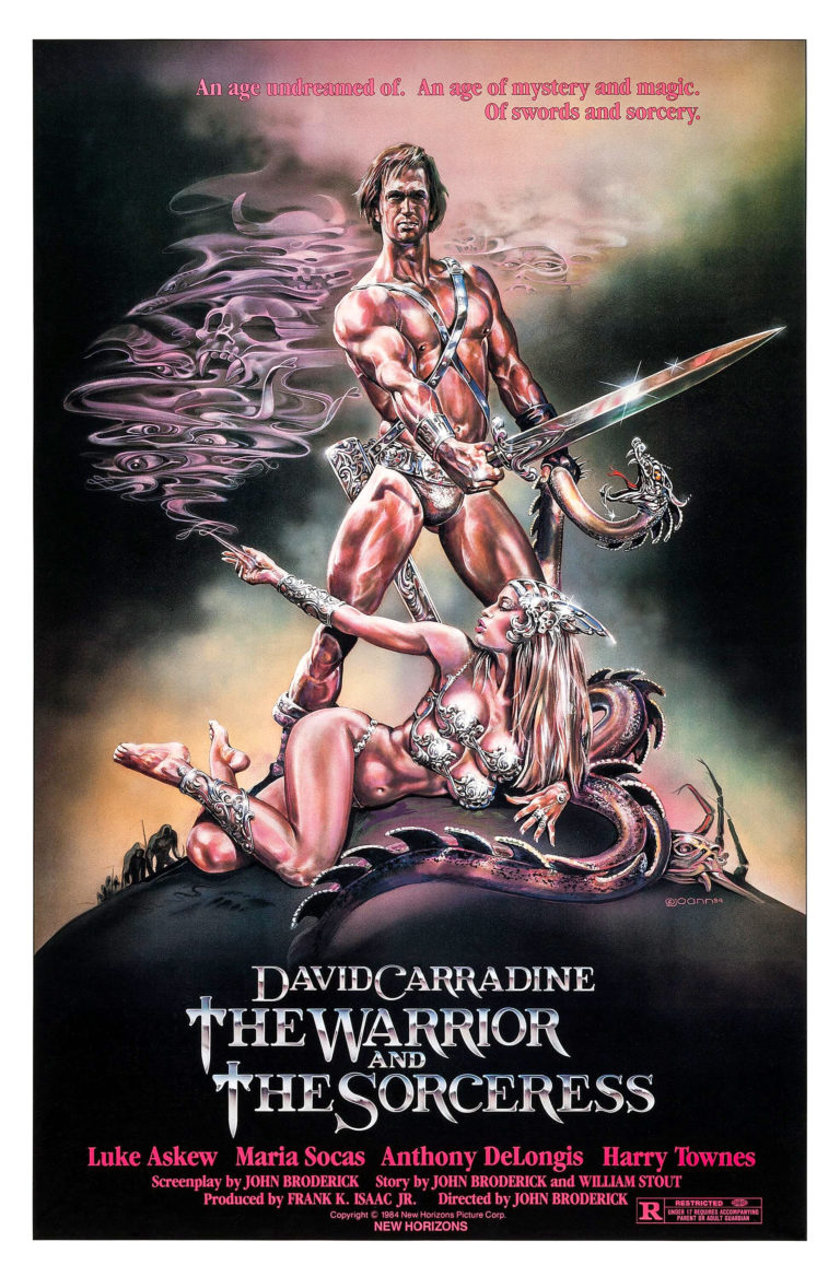 The Warrior and The Sorceress Movie Poster