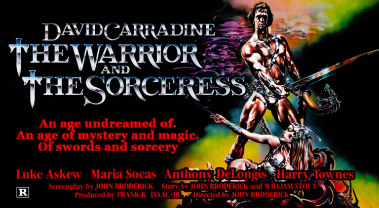 The Warrior and The Sorceress Header