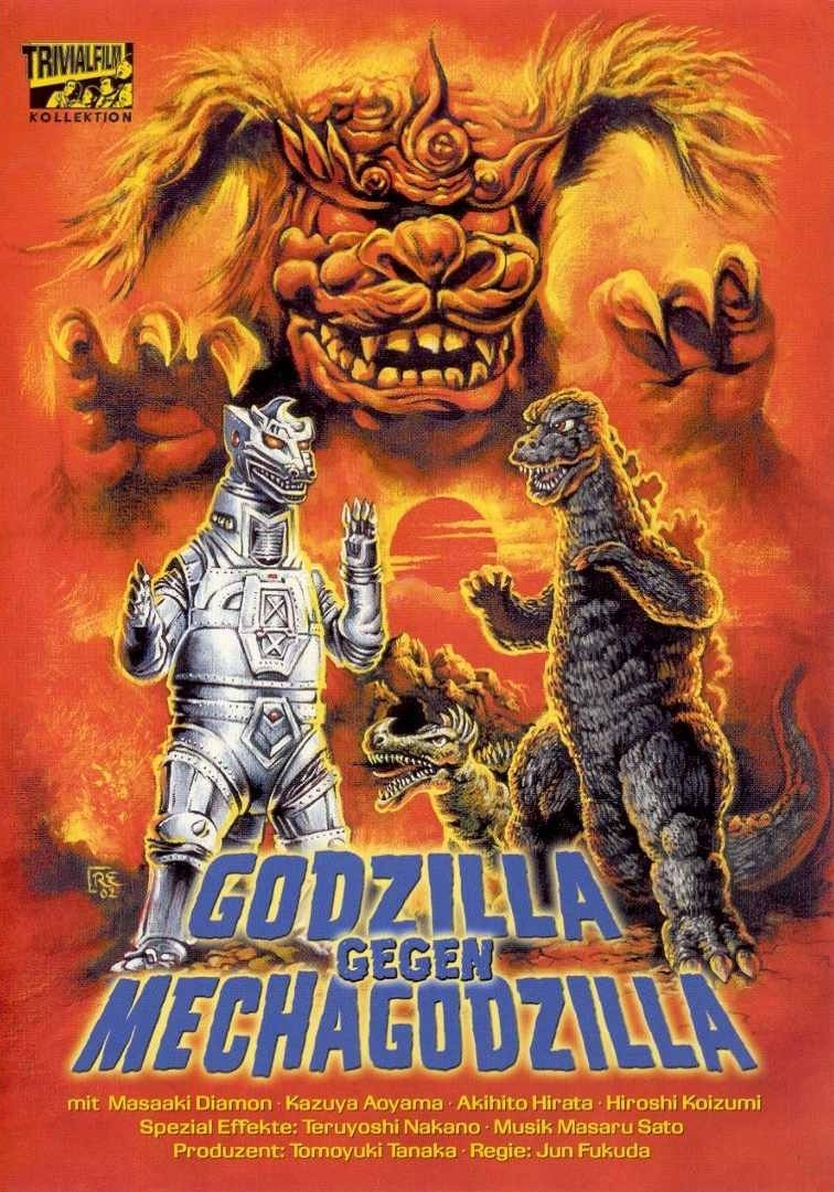 mechagodzilla poster german
